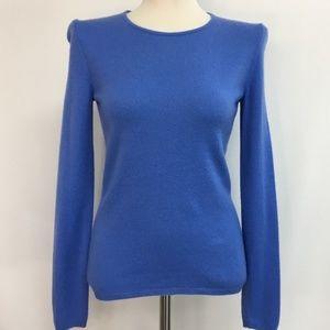 Sutton Studio Bloomingdales Blue 100% Cashmere